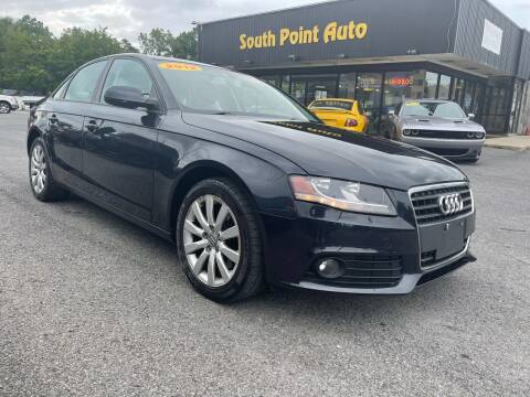 2012 Audi A4 for sale at South Point Auto Plaza, Inc. in Albany NY