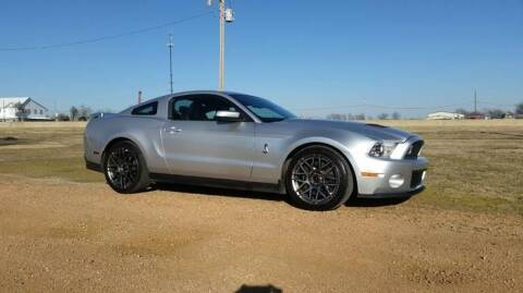 2012 Ford Shelby GT500 for sale at CAVENDER MOTORS in Van Alstyne TX
