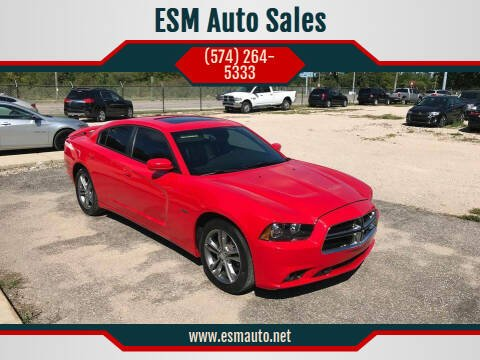 2014 Dodge Charger for sale at ESM Auto Sales in Elkhart IN