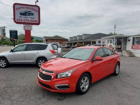2016 Chevrolet Cruze Limited for sale at Ford's Auto Sales in Kingsport TN