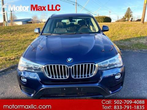 2015 BMW X3 for sale at Motor Max Llc in Louisville KY