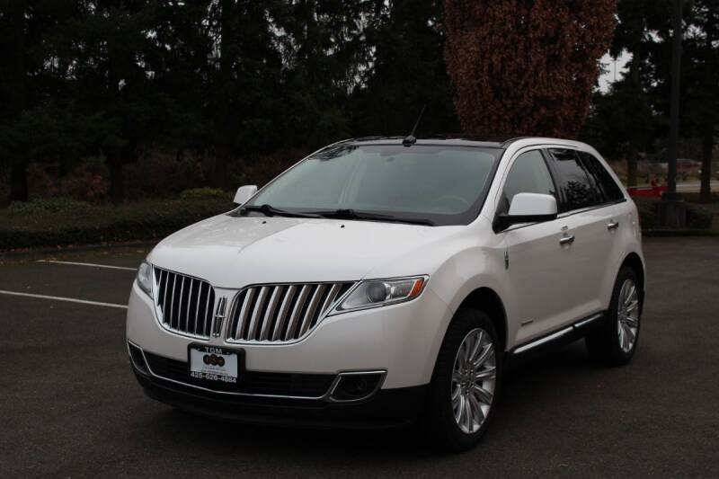 2011 Lincoln MKX for sale at Top Gear Motors in Lynnwood WA