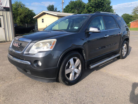 2011 GMC Acadia for sale at Elders Auto Sales in Pine Bluff AR