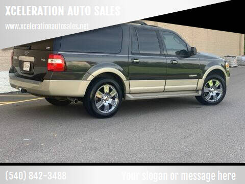 2007 Ford Expedition EL for sale at XCELERATION AUTO SALES in Chester VA
