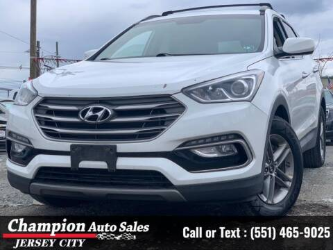2017 Hyundai Santa Fe Sport for sale at CHAMPION AUTO SALES OF JERSEY CITY in Jersey City NJ