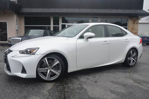 2017 Lexus IS 300 for sale at Amyn Motors Inc. in Tucker GA