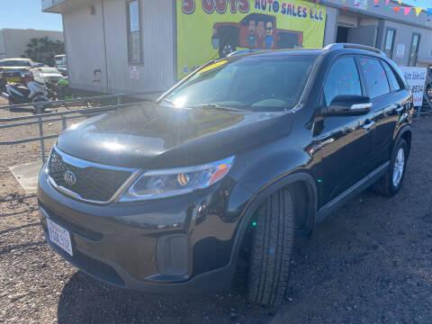 2014 Kia Sorento for sale at 3 Guys Auto Sales LLC in Phoenix AZ