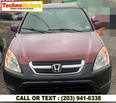 2002 Honda CR-V for sale at Techno Motors in Danbury CT