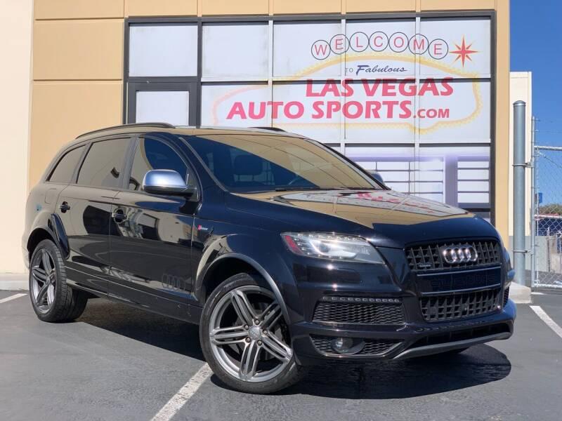 2013 Audi Q7 for sale at Las Vegas Auto Sports in Las Vegas NV