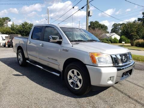 2014 Nissan Titan for sale at M & A Motors LLC in Marietta GA
