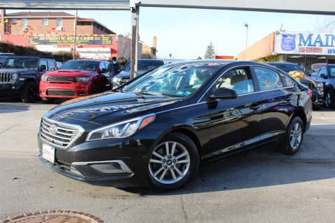 2017 Hyundai Sonata for sale at MIKEY AUTO INC in Hollis NY