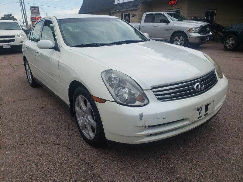 2004 Infiniti G35 for sale at Gordon Auto Sales LLC in Sioux City IA