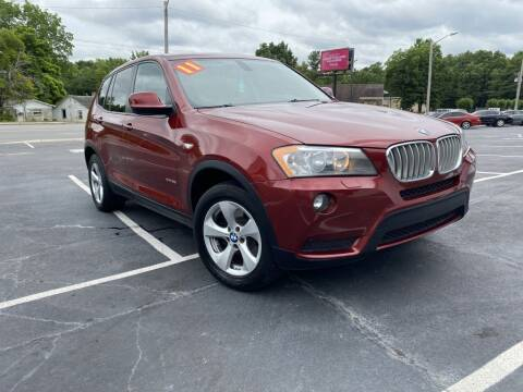 2011 BMW X3 for sale at Glory Motors in Rock Hill SC