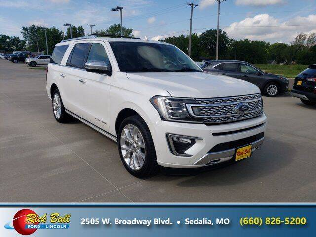 2018 Ford Expedition MAX for sale at RICK BALL FORD in Sedalia MO