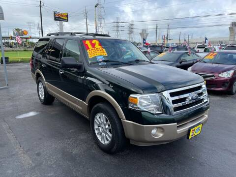 2012 Ford Expedition for sale at Texas 1 Auto Finance in Kemah TX