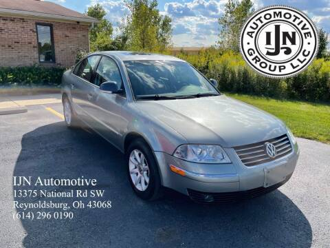 2004 Volkswagen Passat for sale at IJN Automotive Group LLC in Reynoldsburg OH