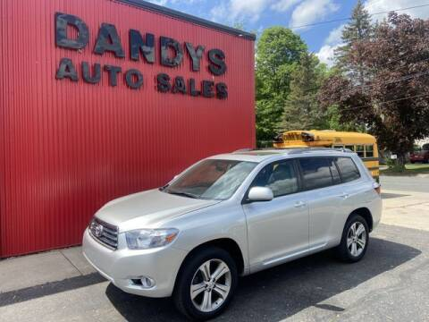 2009 Toyota Highlander for sale at Dandy's Auto Sales in Forest Lake MN
