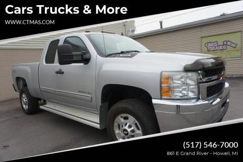 2011 Chevrolet Silverado 2500HD for sale at Cars Trucks & More in Howell MI