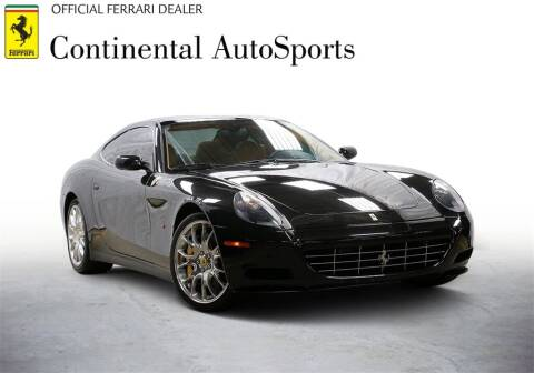 2009 Ferrari 612 Scaglietti for sale at CONTINENTAL AUTO SPORTS in Hinsdale IL