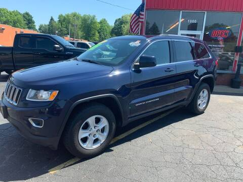 2016 Jeep Grand Cherokee for sale at L&T Auto Sales in Three Rivers MI