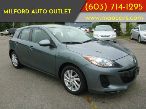 2012 Mazda MAZDA3 for sale at Milford Auto Outlet in Milford NH