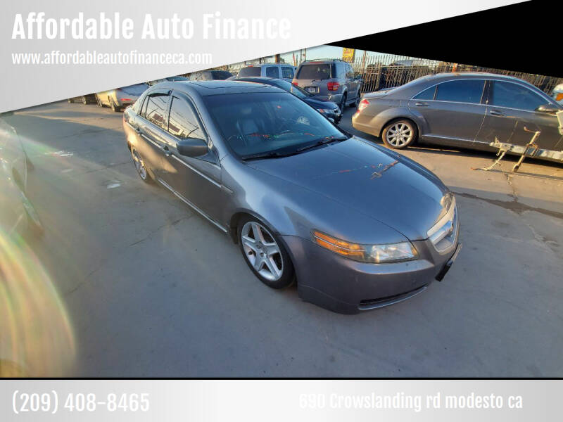 2006 Acura TL for sale at Affordable Auto Finance in Modesto CA