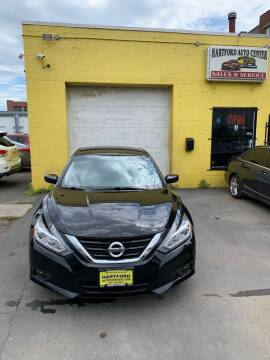2018 Nissan Altima for sale at Hartford Auto Center in Hartford CT