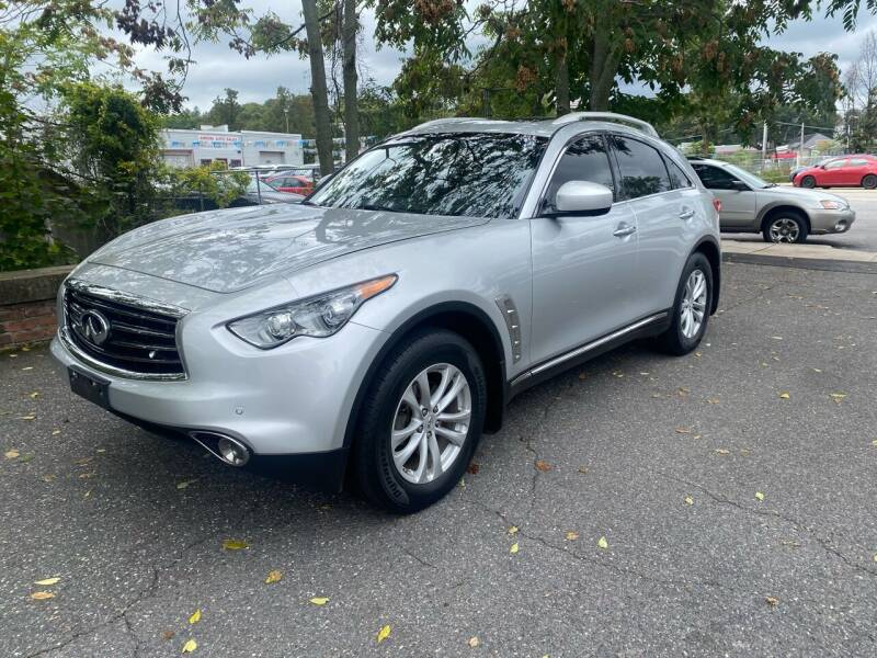 2012 Infiniti FX35 for sale at ANDONI AUTO SALES in Worcester MA