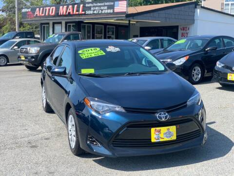 2018 Toyota Corolla for sale at Milford Auto Mall in Milford MA