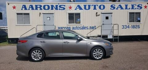 2017 Kia Optima for sale at Aaron's Auto Sales in Corpus Christi TX