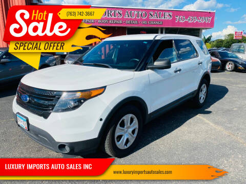 2014 Ford Explorer for sale at LUXURY IMPORTS AUTO SALES INC in North Branch MN
