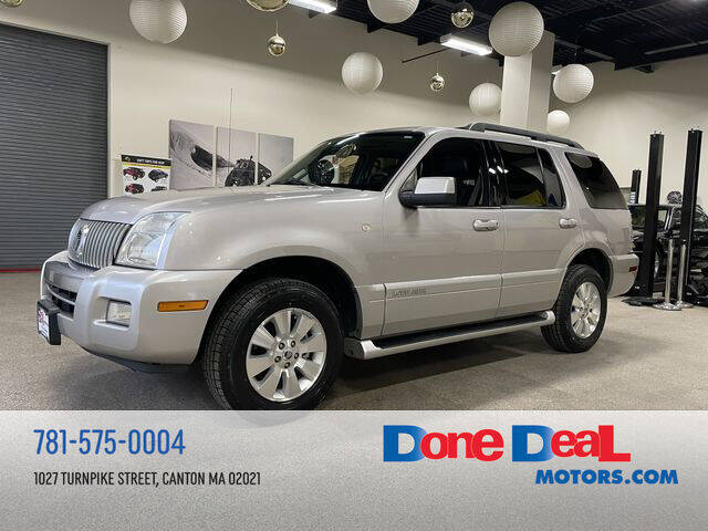 2007 Mercury Mountaineer for sale at DONE DEAL MOTORS in Canton MA