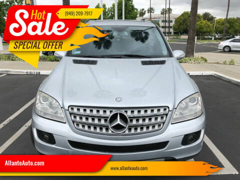 2008 Mercedes-Benz M-Class for sale at AllanteAuto.com in Santa Ana CA