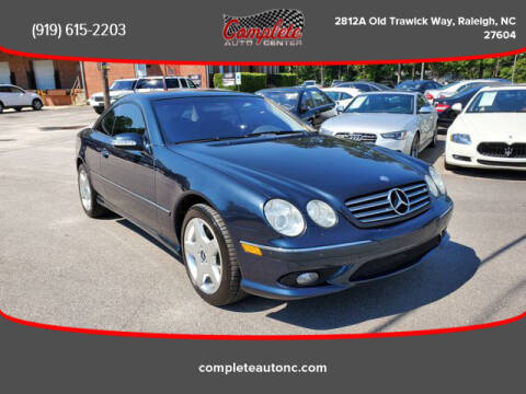 2004 Mercedes-Benz CL-Class for sale at Complete Auto Center , Inc in Raleigh NC