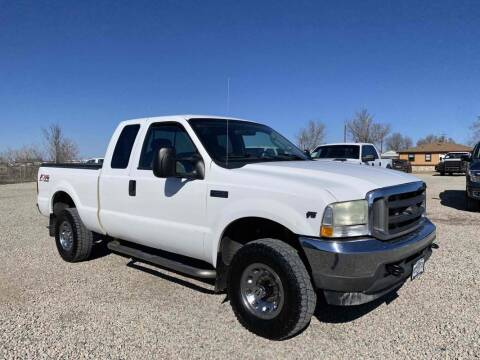 2004 Ford F-250 Super Duty for sale at BERKENKOTTER MOTORS in Brighton CO