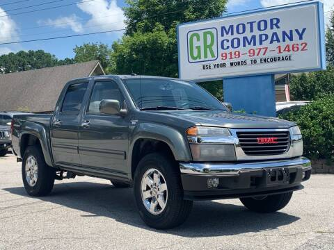2011 GMC Canyon for sale at GR Motor Company in Garner NC