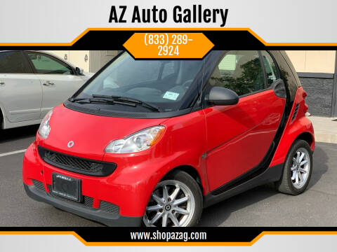 2010 Smart fortwo for sale at AZ Auto Gallery in Mesa AZ