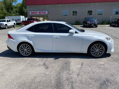 2014 Lexus IS 250 for sale at Ramsey Motors in Riverside MO