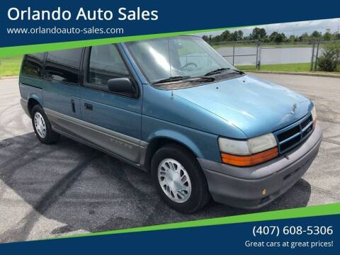 1994 Dodge Caravan for sale at Orlando Auto Sales Recycling in Orlando FL
