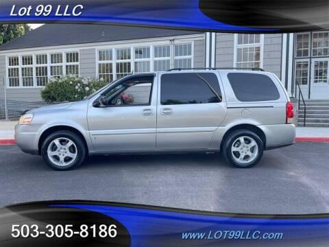 2007 Chevrolet Uplander for sale at LOT 99 LLC in Milwaukie OR