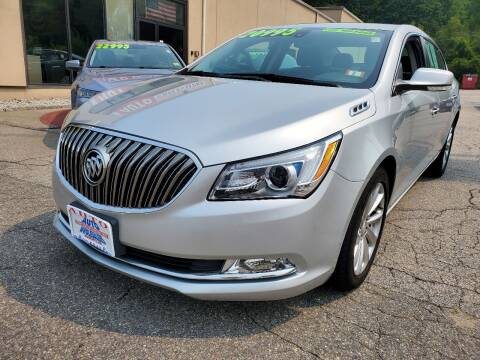 2016 Buick LaCrosse for sale at Auto Wholesalers Of Hooksett in Hooksett NH