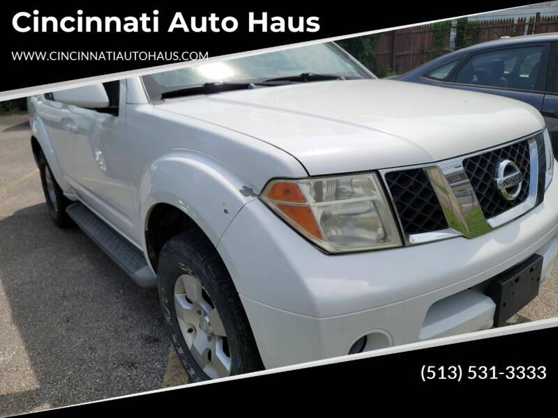 2005 Nissan Pathfinder for sale at Cincinnati Auto Haus in Cincinnati OH