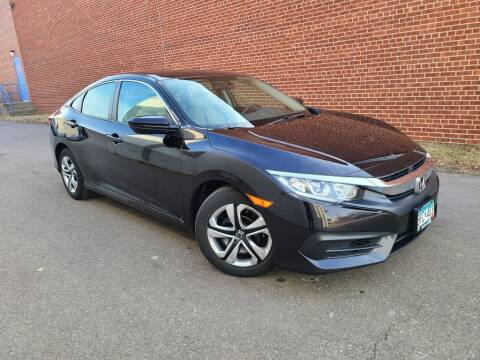 2017 Honda Civic for sale at Minnesota Auto Sales in Golden Valley MN