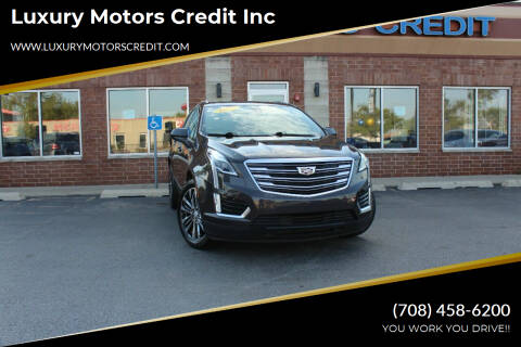 2017 Cadillac XT5 for sale at Luxury Motors Credit Inc in Bridgeview IL