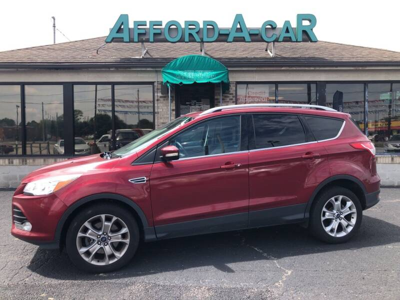 2014 Ford Escape for sale at Afford-A-Car in Dayton/Newcarlisle/Springfield OH