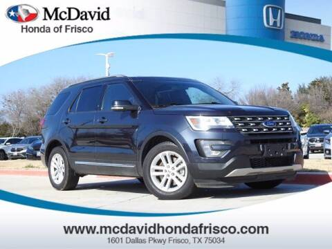 2017 Ford Explorer for sale at DAVID McDAVID HONDA OF IRVING in Irving TX
