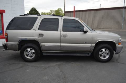 2002 Chevrolet Tahoe for sale at CARGILL U DRIVE USED CARS in Twin Falls ID