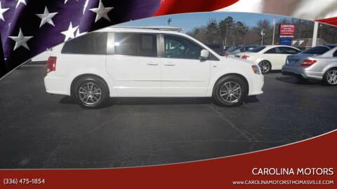2014 Dodge Grand Caravan for sale at CAROLINA MOTORS in Thomasville NC