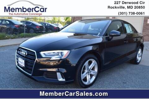 2017 Audi A3 for sale at MemberCar in Rockville MD