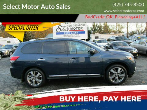 2013 Nissan Pathfinder for sale at Select Motor Auto Sales in Lynnwood WA